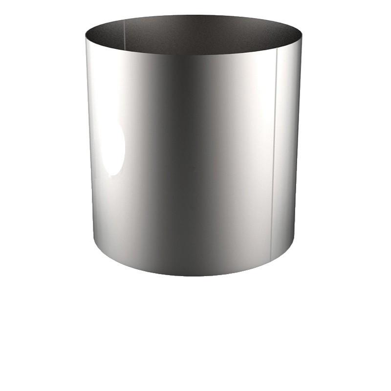 VIROLE ROULEE SOUDEE D.EXT 1400 épaisseur 5 mm en 304L