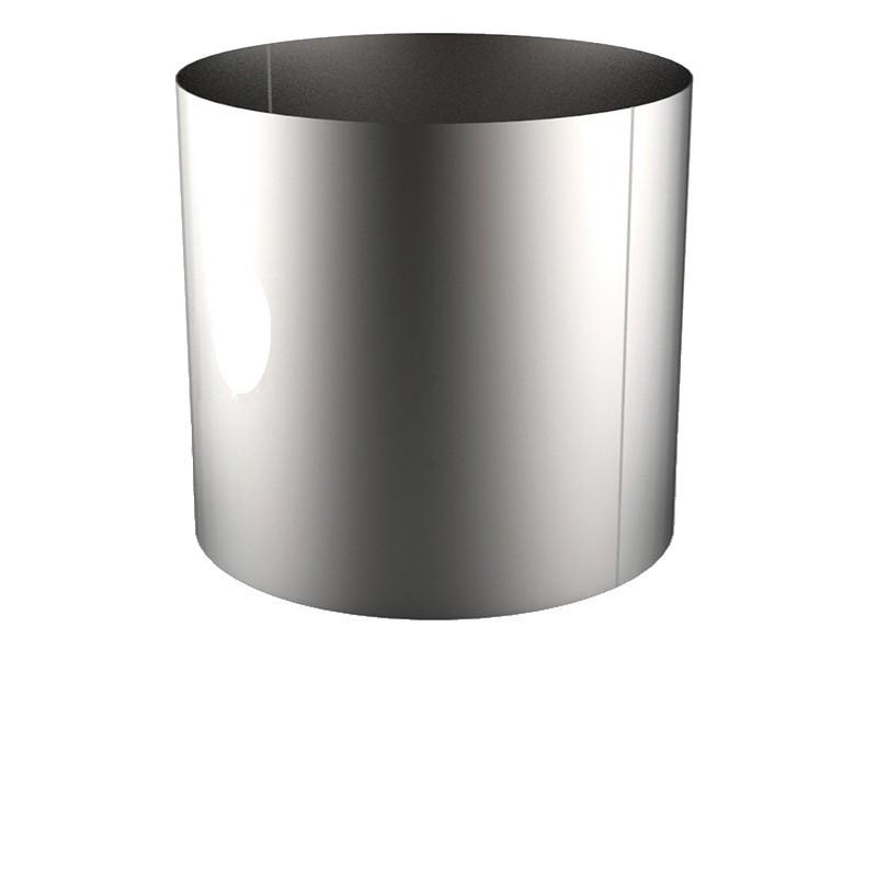 VIROLE ROULEE SOUDEE D.EXT 1600 épaisseur 8 mm en 304L