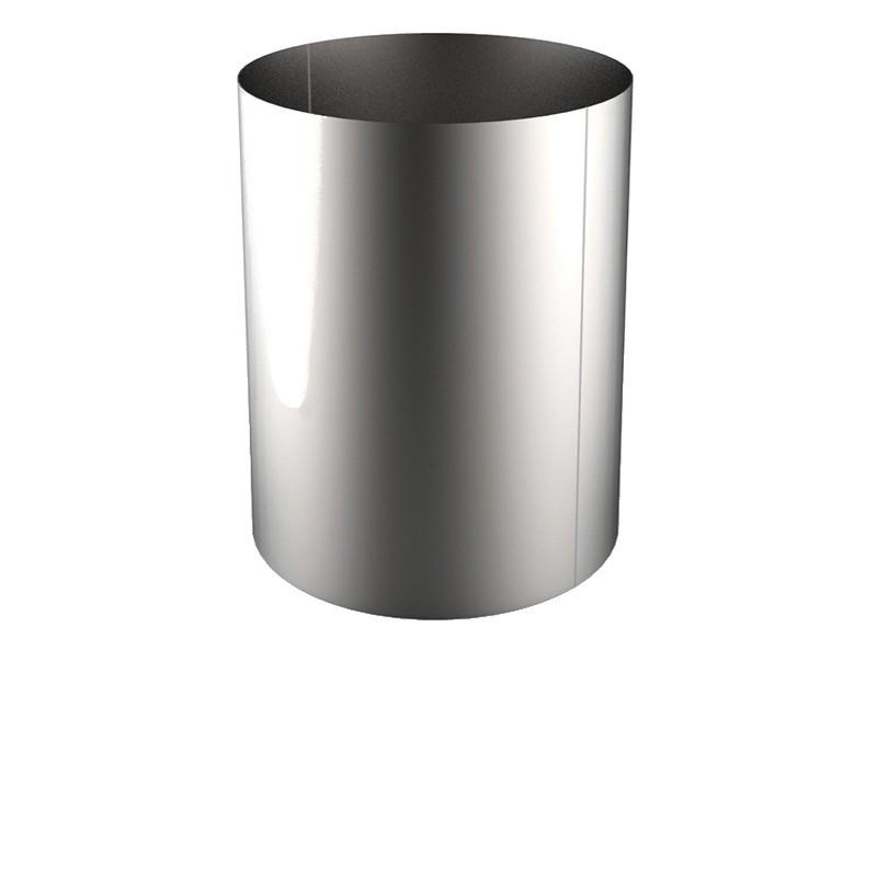 VIROLE ROULEE SOUDEE D.EXT 800 épaisseur 3 mm en 316L