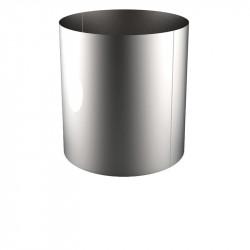 VIROLE ROULEE SOUDEE D.EXT 1200 épaisseur 5 mm en 316L