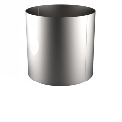 VIROLE ROULEE SOUDEE D.EXT 1500 épaisseur 5 mm en 316L