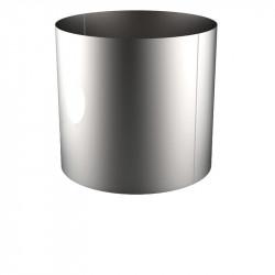 VIROLE ROULEE SOUDEE D.EXT 1600 épaisseur 5 mm en 316L