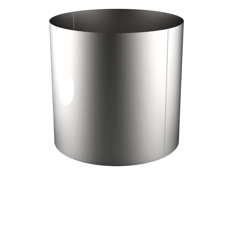 VIROLE ROULEE SOUDEE D.EXT 1500 épaisseur 6 mm en 316L