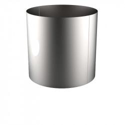 VIROLE ROULEE SOUDEE D.EXT 1500 épaisseur 8 mm en 316L